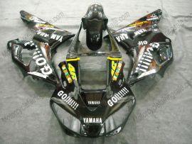 Yamaha YZF-R1 1998-1999 Carénage ABS Injection - GO!!!!! - noir