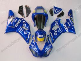 Yamaha YZF-R1 1998-1999 Carénage ABS Injection - GO!!!!! - bleu