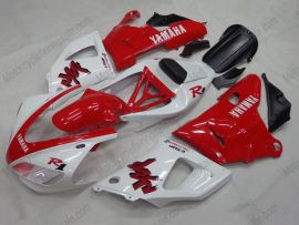 Yamaha YZF-R1 1998-1999 Carénage ABS Injection - autres - blanc/rouge