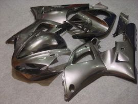 Yamaha YZF-R1 2000-2001 Carénage ABS Injection - Factory Style - tout argent
