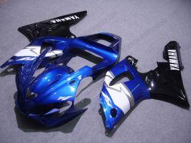 Yamaha YZF-R1 2000-2001 Carénage ABS Injection - autres - bleu/blanc/noir