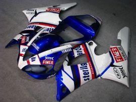Yamaha YZF-R1 2000-2001 Carénage ABS Injection - Sterilgarda - blanc/bleu