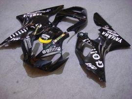 Yamaha YZF-R1 2000-2001 Carénage ABS Injection Race - GO!!!!! - noir