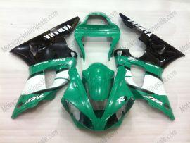 Yamaha YZF-R1 2000-2001 Carénage ABS Injection - autres - vert/noir
