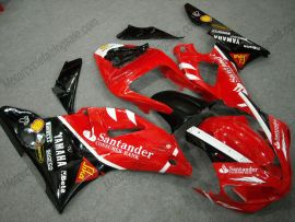 Yamaha YZF-R1 2000-2001 Carénage ABS Injection - Santander - rouge/noir