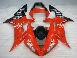 Yamaha YZF-R1 2002-2003 Carénage ABS Injection - Dunlop - rouge/noir