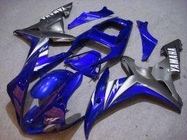 Yamaha YZF-R1 2002-2003 Carénage ABS Injection - autres - bleu/gris