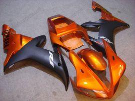 Yamaha YZF-R1 2002-2003 Carénage ABS Injection - autres - orange/noir