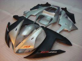 Yamaha YZF-R1 2002-2003 Carénage ABS Injection - autres - argent/noir