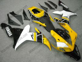 Yamaha YZF-R1 2002-2003 Carénage ABS Injection - autres - noir/jaune/blanc