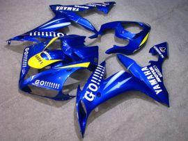 Yamaha YZF-R1 2004-2006 Carénage ABS Injection - GO!!!!! - bleu