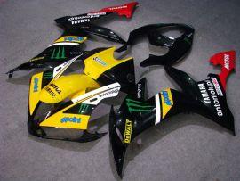 Yamaha YZF-R1 2004-2006 Carénage ABS Injection - Monster - noir/jaune