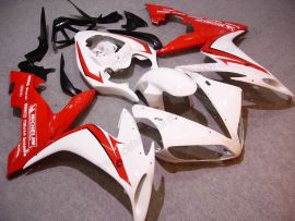 Yamaha YZF-R1 2004-2006 Carénage ABS Injection - autres - blanc/rouge