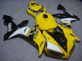 Yamaha YZF-R1 2004-2006 Carénage ABS Injection - autres - jaune/noir/blanc
