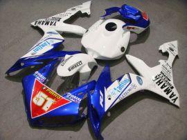 Yamaha YZF-R1 2004-2006 Carénage ABS Injection - PIRELLI - blanc/bleu