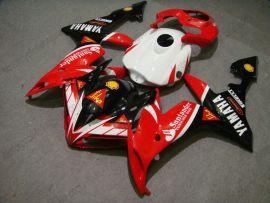 Yamaha YZF-R1 2004-2006 Carénage ABS Injection - Santander - rouge/noir/blanc