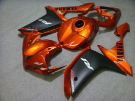 Yamaha YZF-R1 2007-2008 Carénage ABS Injection - autres - orange/noir
