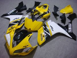 Yamaha YZF-R1 2007-2008 Carénage ABS Injection - autres - jaune/blanc/noir