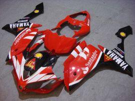 Yamaha YZF-R1 2007-2008 Carénage ABS Injection - Santander - rouge/noir/blanc