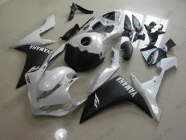 Yamaha YZF-R1 2007-2008 Carénage ABS Injection - autres - blanc/noir