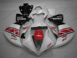 Yamaha YZF-R1 2009-2012 Carénage ABS Injection - autres - blanc/rouge/noir