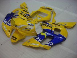 Yamaha YZF-R6 1998-2002 Carénage ABS Injection - Camel - jaune/bleu