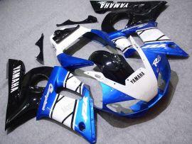 Yamaha YZF-R6 1998-2002 Carénage ABS Injection - autres - bleu/blanc/noir
