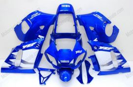 Yamaha YZF-R6 1998-2002 Carénage ABS Injection - autres - bleu/blanc