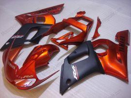 Yamaha YZF-R6 1998-2002 Carénage ABS Injection - autres - orange/noir