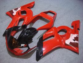 Yamaha YZF-R6 1998-2002 Carénage ABS Injection - autres - rouge/noir