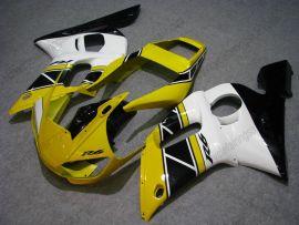 Yamaha YZF-R6 1998-2002 Carénage ABS Injection - autres - jaune/noir/blanc