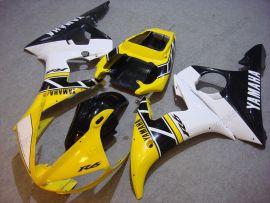 Yamaha YZF-R6 2003-2004 Carénage ABS Injection - Motul - jaune/noir/blanc