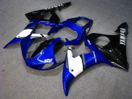 Yamaha YZF-R6 2005 Carénage ABS Injection - autres - bleu/blanc/noir