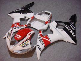 Yamaha YZF-R6 2005 Carénage ABS Injection - Motul - blanc/rouge/noir