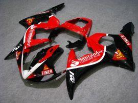 Yamaha YZF-R6 2003-2004 Carénage ABS Injection - Santander - rouge/noir