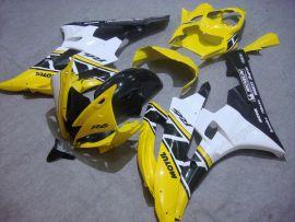 Yamaha YZF-R6 2006-2007 Carénage ABS Injection - Motul - jaune/noir/blanc