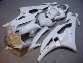 Yamaha YZF-R6 2006-2007 Carénage ABS Injection - Factory Style - tout blanc