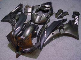 Yamaha YZF-R6 2006-2007 Carénage ABS Injection - autres - gris/noir