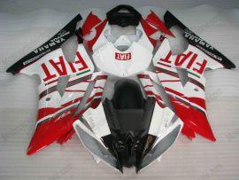 Yamaha YZF-R6 2008-2014 Carénage ABS Injection - FIAT - rouge/blanc/noir