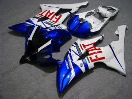 Yamaha YZF-R6 2008-2014 Carénage ABS Injection - FIAT - blanc/bleu