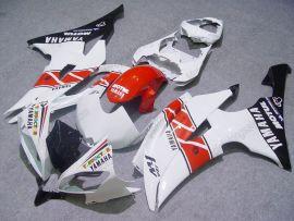 Yamaha YZF-R6 2008-2014 Carénage ABS Injection - Motul - blanc/rouge/noir