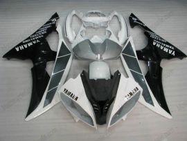 Yamaha YZF-R6 2008-2014 Carénage ABS Injection - autres - noir/blanc