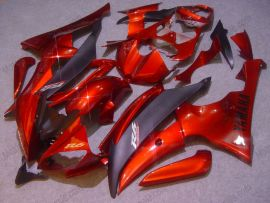 Yamaha YZF-R6 2008-2014 Carénage ABS Injection - autres - rouge