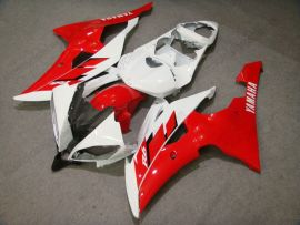 Yamaha YZF-R6 2008-2014 Carénage ABS Injection - autres - rouge/blanc
