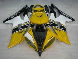 Yamaha YZF-R6 2008-2014 Carénage ABS Injection - autres - jaune/noir/blanc