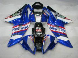 Yamaha YZF-R6 2008-2014 Carénage ABS Injection - Sterilgarda - bleu