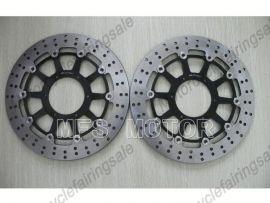 Honda CBR1000RR 2006-2007 VTR1000 SP1 SP2 RC51 2000-2007 disque frein avant du rotor - noir