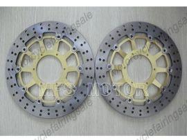 Honda CBR1000RR 2006-2007 VTR1000 SP1 SP2 RC51 2000-2007 disque frein avant du rotor - doré