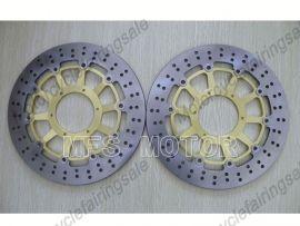 Honda CCBR900RR 929 2000-2001 954 2002-2003 disque frein avant du rotor - doré