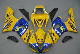 Yamaha YZF-R1 2000-2001 Carénage ABS Injection - Camel - jaune/bleu
